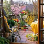 balcony garden ideas for apartment