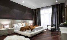 Gray Wood Floor Bedroom Ideas