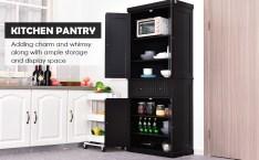Large Oak Kitchen Pantry