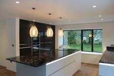 Tall Grey Kitchen Pantry