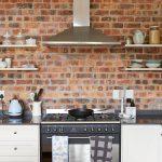 White Backsplash Kitchen Pantry