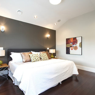 Dark Gray Walls Bedroom Ideas And Photos Houzz