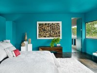 turquoise floor bedroom designs