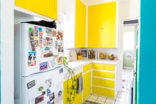 Get Yellow Counter Kitchen Pantry Gif