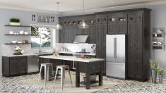 Dark Grey Kitchen Pantry