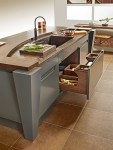 Copper Counter Kitchen Pantry