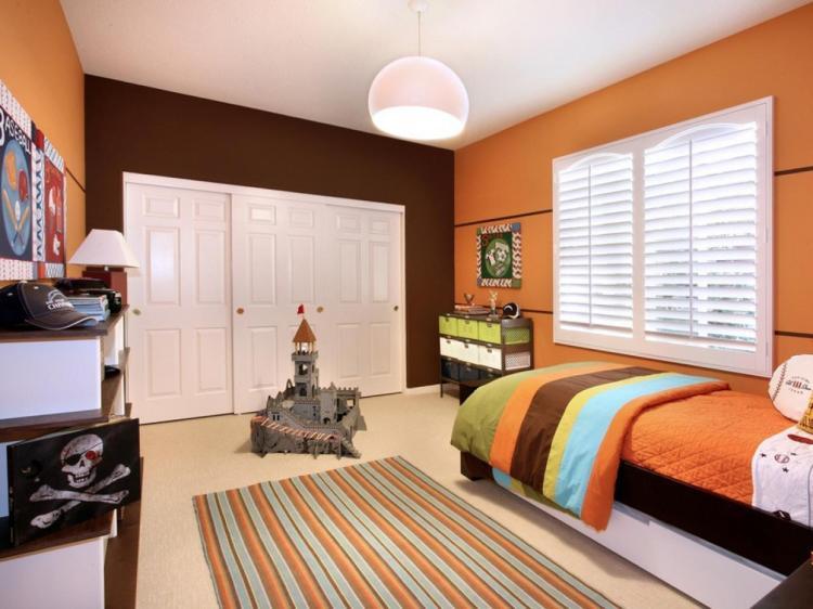 Orange Bedrooms Pictures Options Ideas Hgtv
