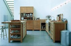 Modern Freestanding Kitchen Pantry