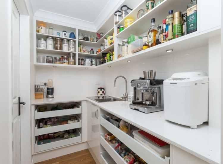45 Gorgeous Walk In Kitchen Pantry Ideas Photos