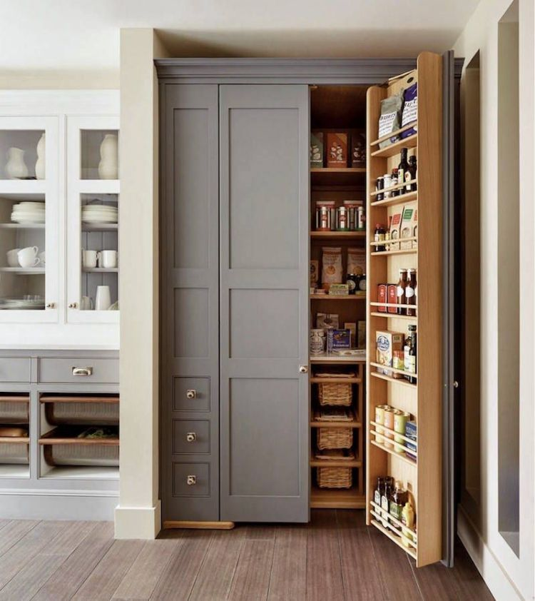 25 Sumptuous Kitchen Pantries Old New Large Small And Gorgeous Built In Pantry Pantry Design Kitchen Pantry Design
