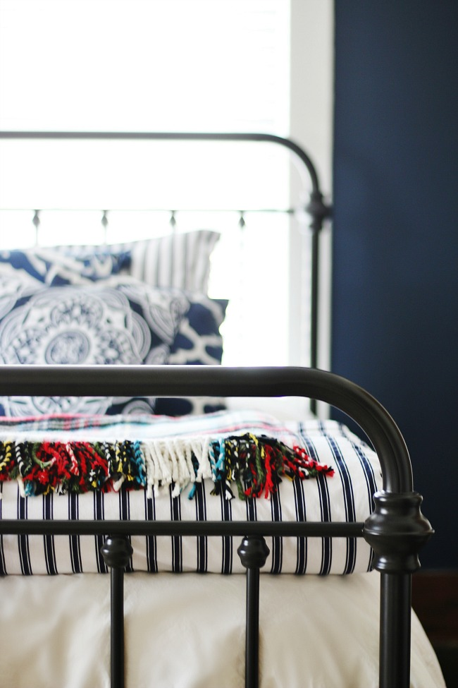 Navy And White Bedroom Decorating Ideas Thistlewood Farms
