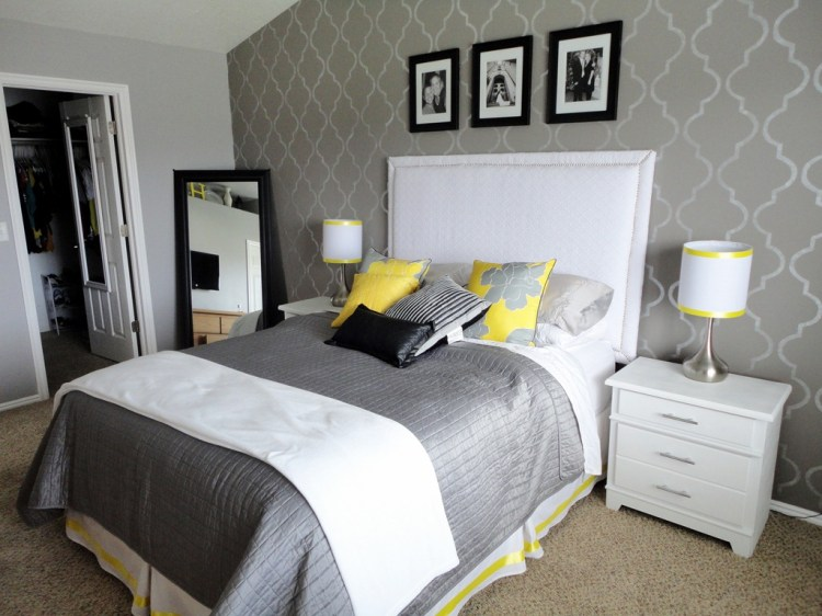 Home Andnteriordeas Yellow Grey Bedroom Target Purple Gray Clearance Chairs Master White Blue Blackout For Stunning Designs Bench Boys Decor Queen Black Laurelinekoenig