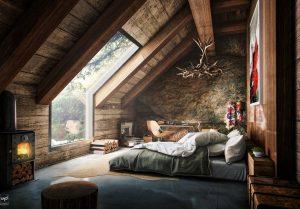 50 Unique Attic Bedroom Ideas And Designs Will Make You More Comfort