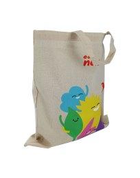 Cotton bag with CMYK print