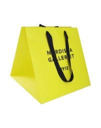 Satin handle paper bags