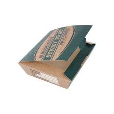 Laminated cardboard food box with print