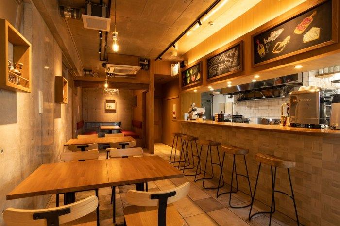 レストランの照明デザイン事例