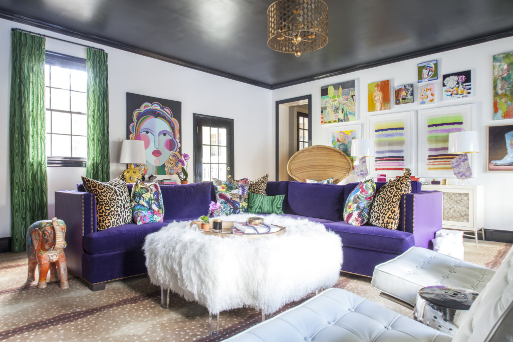 Color Diaries A bold and eclectic Ultra Violet color palette