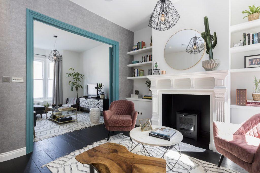 Design Peeper- A round-up of my favorite velvet interiors