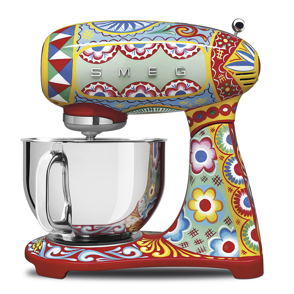 Hand Painted Appliances by Dolce and Gabbana x Smeg