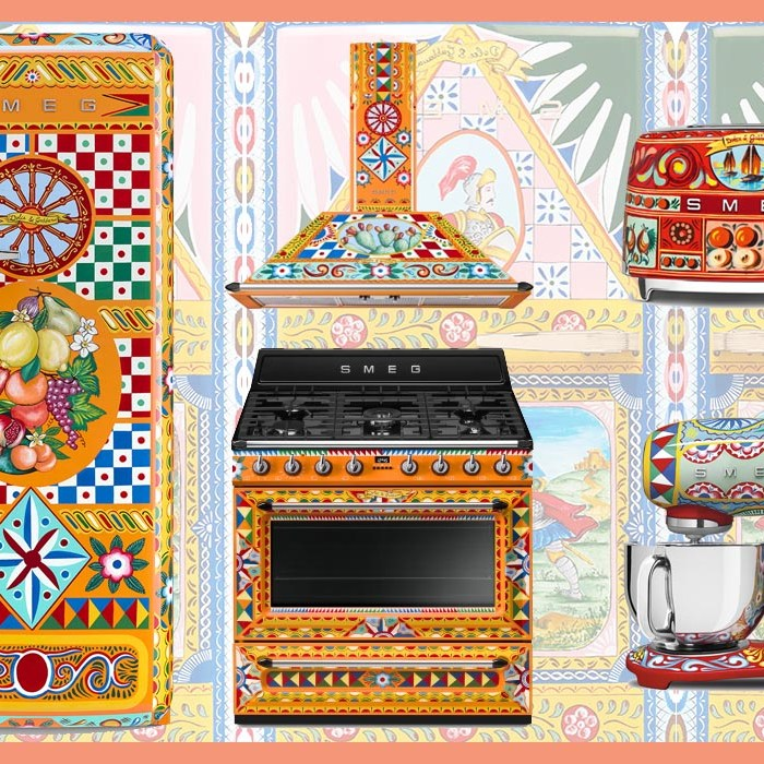 Hand Painted Appliances by Dolce & Gabbana x Smeg