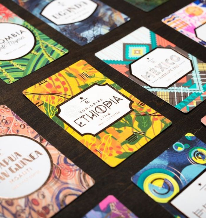 Starbucks Reserve Coffee Cards
