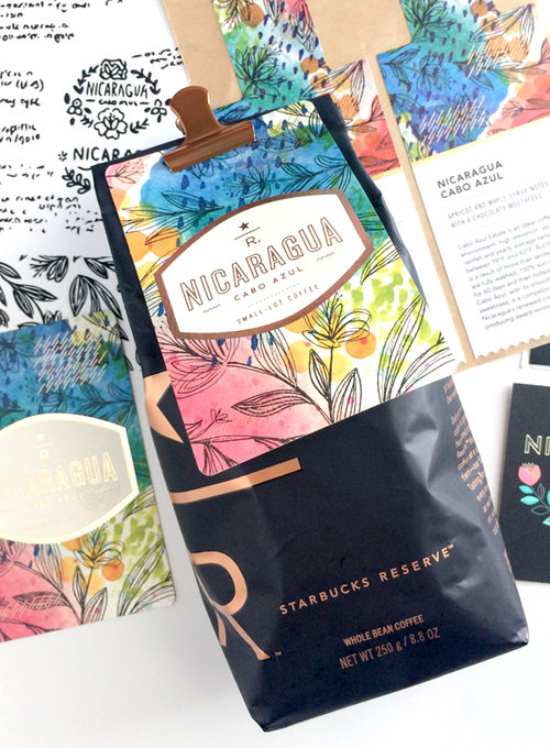 Starbucks Reserve Coffee Cards-Design Peeper