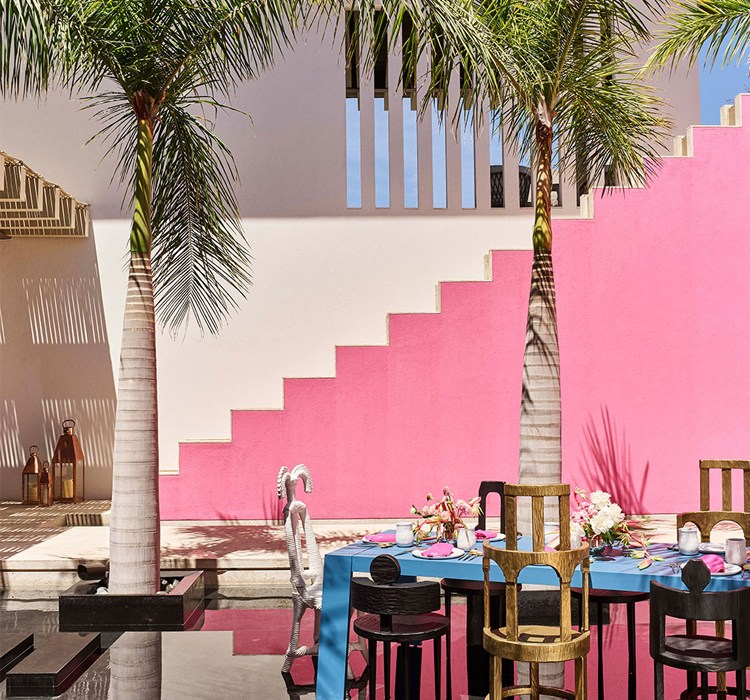 Vibrant Mexican Modernism Vacation Home