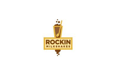 rockin milkshakes logo