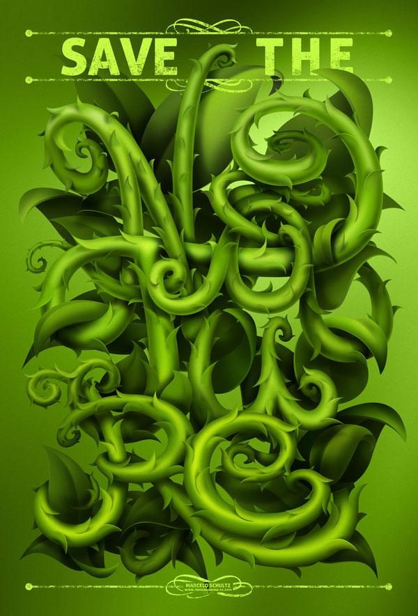 Save the Nature Brazilian Designer Inspiration