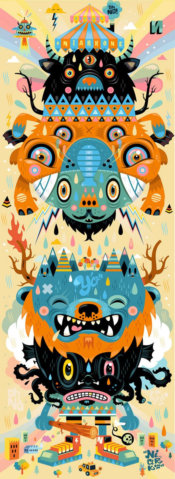 Illustration #8 ( special symmetry ) 2