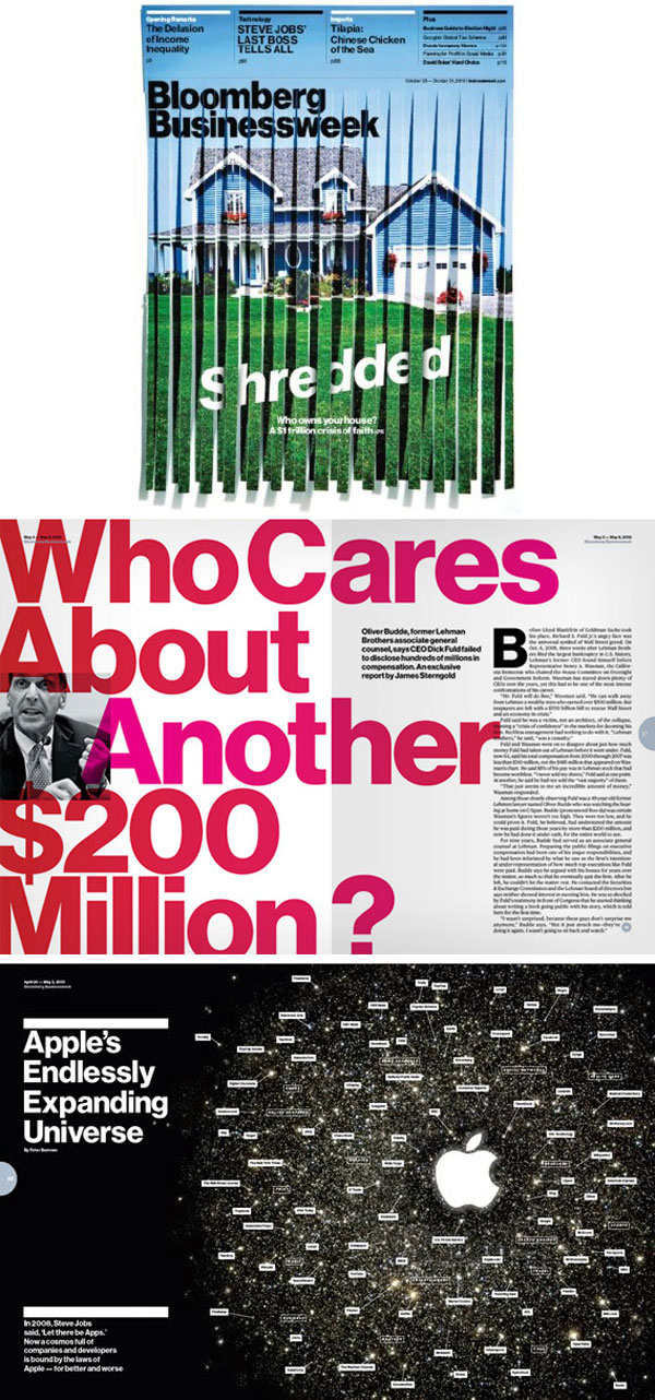 Bloomberg Businessweek Print Design Inspiration
