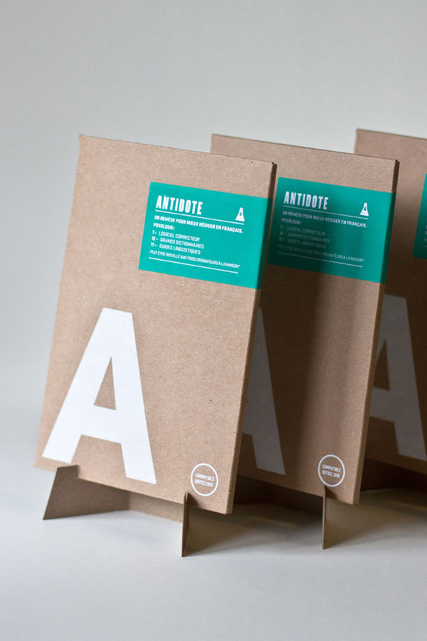 Antidote Software Package Design