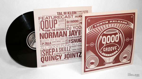 Good Groove Record Packaging Package Design