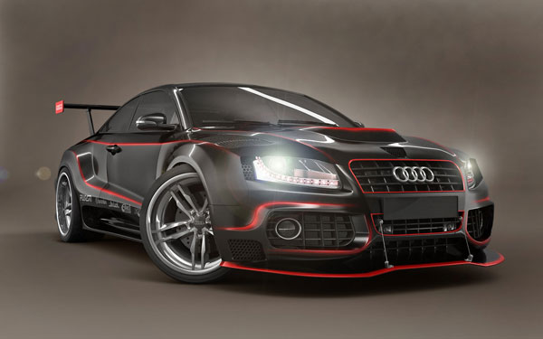 Audi A5 GTR Design Inspiration in Romania