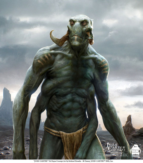 John Carter - Character Design and Concept Art 3 Design Inspiration