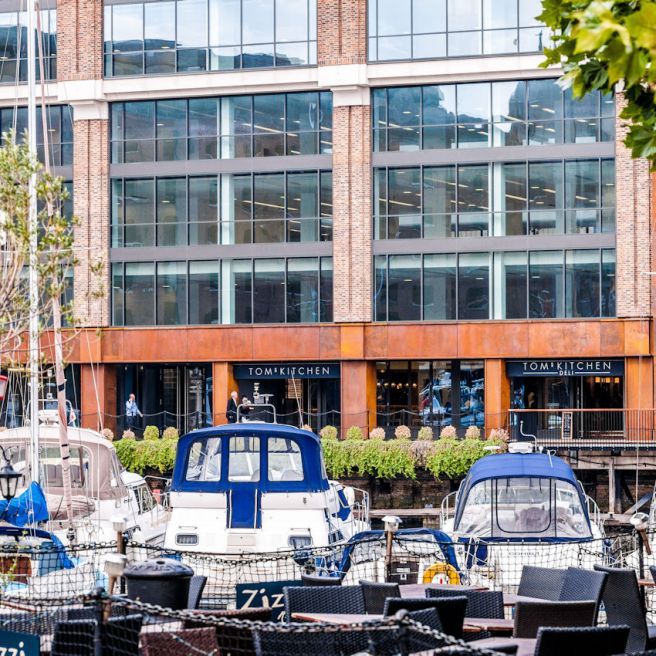 Tom's Kitchen St Katherine's Dock