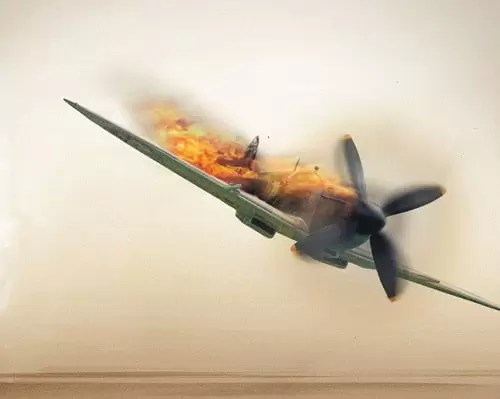 Manipulating a WW2 Fighter Aircraft