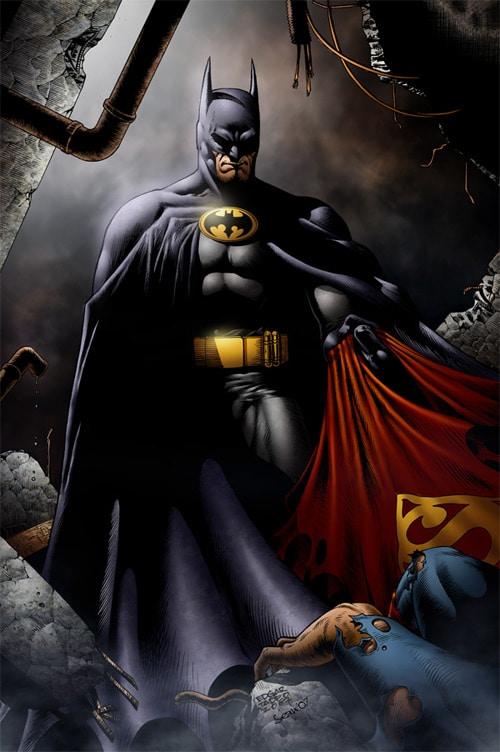 Batman and superman by SeanE