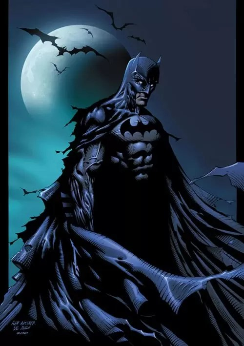 Batman by BlondTheColorist