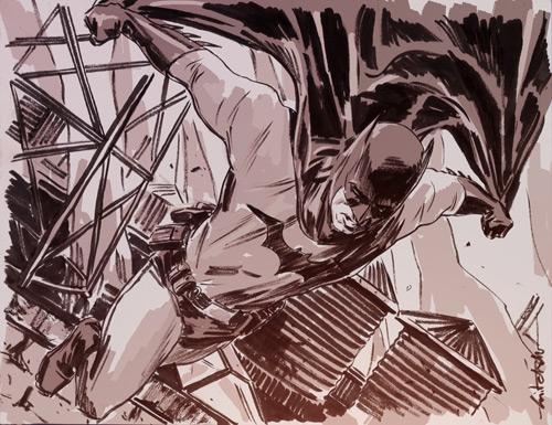 Batman by mbreitweiser