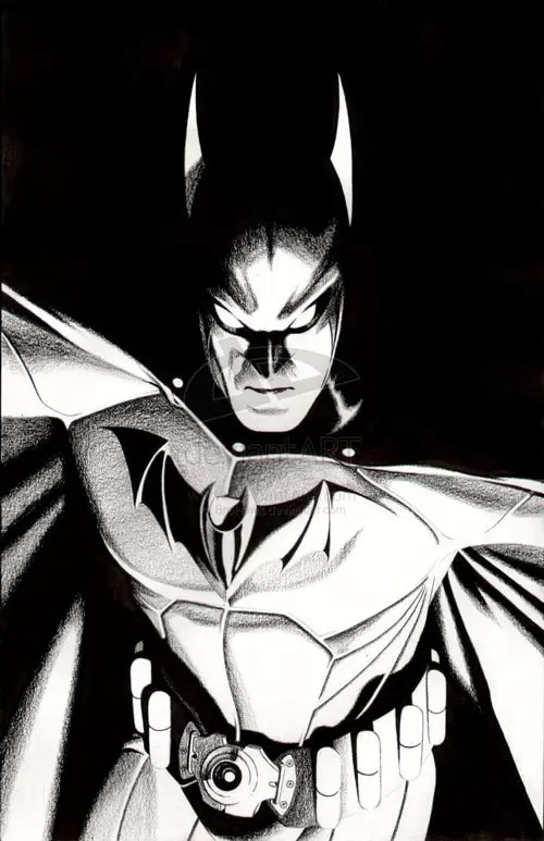 DC Icon Batman by BroHawk