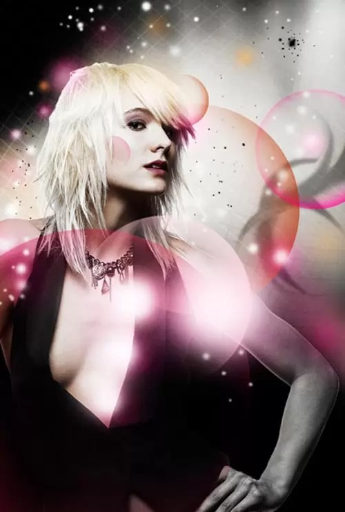How to create Glowing Fashion Photo Manipulation