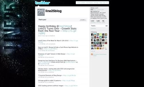 Style Up Your Twitter Profile with a Custom Design