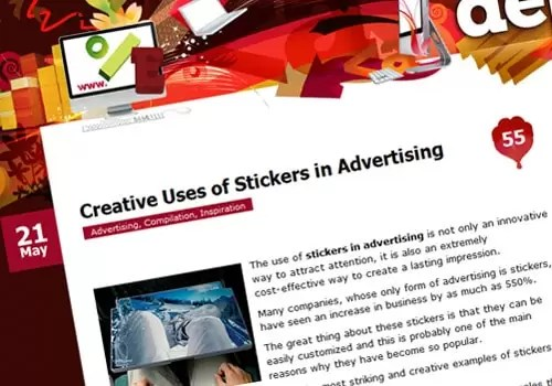 Creative Uses of Stickers in Advertising