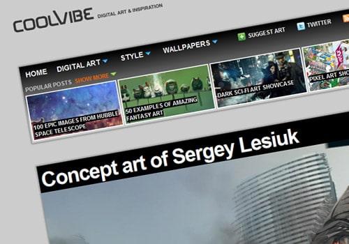 Concept art of Sergey Lesiuk