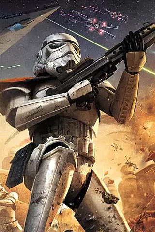 iPhone Wallpaper  70  Gaming Inspired Designs   designrfix com Star Wars  Battlefront Squadron
