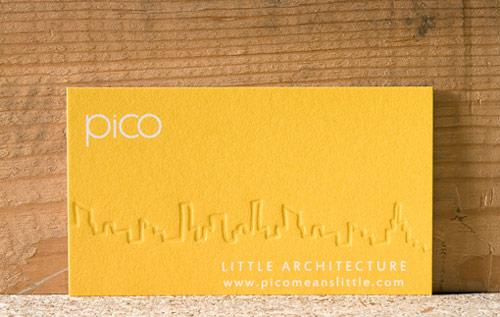 Pico Business Card Design
