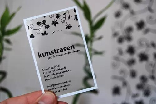 kunstrasen graphic design businesscard