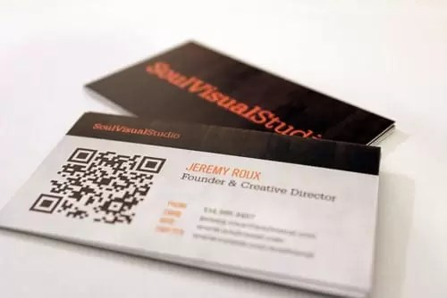 SoulVisual Business cards